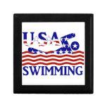 USA Swimming Keepsake Boxes