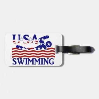 USA Swimming Bag Tags
