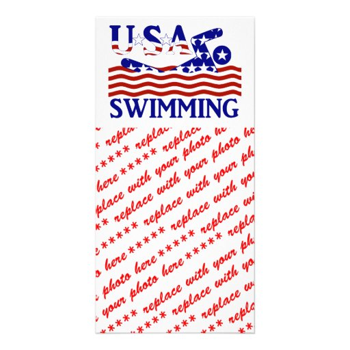 USA Swimming Picture Card