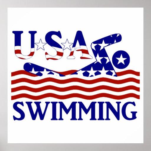 USA Swimming Poster
