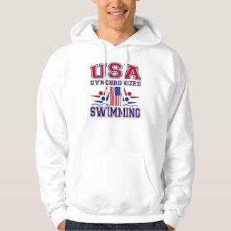 USA Synchronized Swimming Hoodie