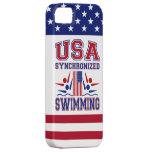 USA Synchronized Swimming iPhone SE/5/5s Case