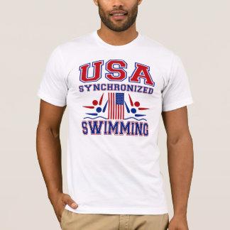 USA Synchronized Swimming T-Shirt
