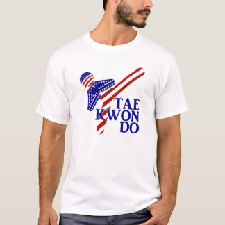 USA Tae Kwon-do Kick (1) T-Shirt