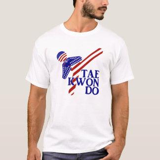 USA Tae Kwon-do Kick (1) T-Shirt