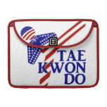 USA Taekwondo Kick (1) Sleeve For MacBooks