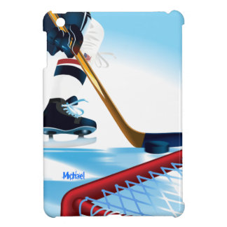 USA Team Hockey Player iPad Mini Case