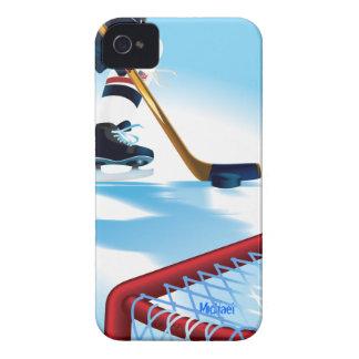 USA Team Hockey Player iPhone 4 Cover