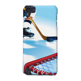 USA Team Hockey Player iPod 5 Touch iPod Touch (5th Generation) Cover