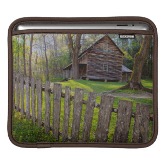 USA, Tennessee, Cabin In Cades Cove Sleeve For iPads