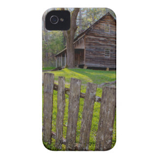 USA, Tennessee, Cabin In Cades Cove iPhone 4 Cases