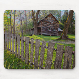 USA, Tennessee, Cabin In Cades Cove Mouse Pad