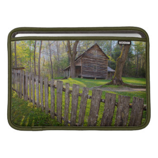 USA, Tennessee, Cabin In Cades Cove Sleeve For MacBook Air