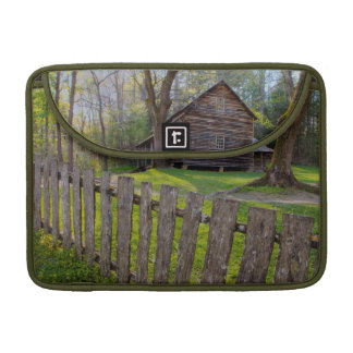 USA, Tennessee, Cabin In Cades Cove Sleeve For MacBook Pro