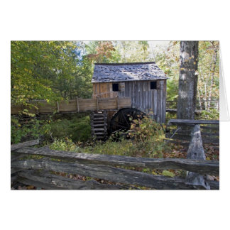 USA - Tennessee Cable mill in Cades Cove area Greeting Card