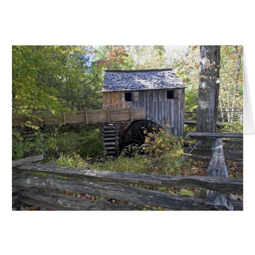 USA - Tennessee. Cable mill in Cades Cove area Greeting Card