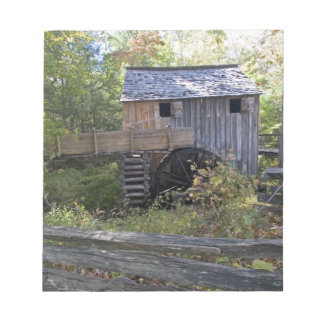 USA - Tennessee. Cable mill in Cades Cove area Notepad