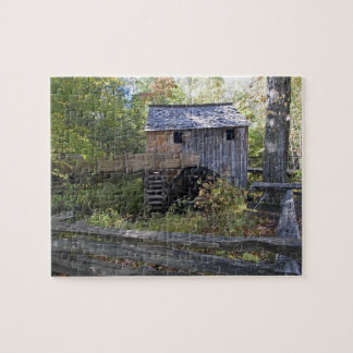 USA - Tennessee. Cable mill in Cades Cove area Jigsaw Puzzles