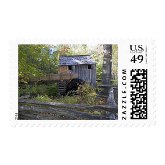 USA - Tennessee. Cable mill in Cades Cove area Stamp