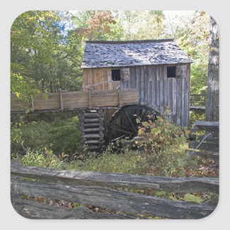 USA - Tennessee. Cable mill in Cades Cove area Stickers