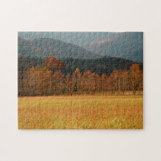 USA, Tennessee. Cades Cove In Smoky Mountain Puzzles
