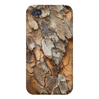 USA, Tennessee, Close Up Of Bark On A Tree iPhone 4 Cover