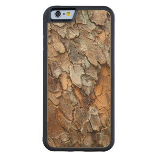 USA, Tennessee, Close Up Of Bark On A Tree Carved® Maple iPhone 6 Bumper Case