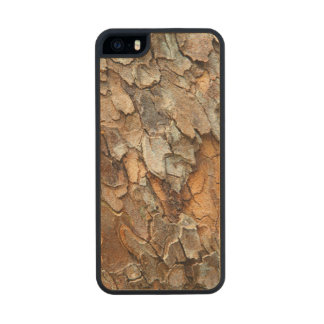 USA, Tennessee, Close Up Of Bark On A Tree Carved® Maple iPhone 5 Slim Case