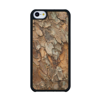 USA, Tennessee, Close Up Of Bark On A Tree Carved® Maple iPhone 5C Slim Case