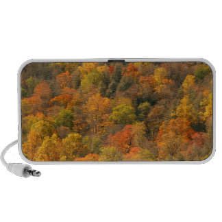 USA, Tennessee. Fall Foliage 2 Portable Speaker