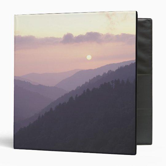 USA, Tennessee. Great Smokey Mountains 2 3 Ring Binder