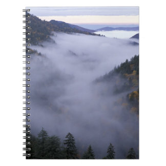 USA, Tennessee. Great Smokey Mountains National Notebook