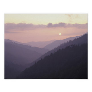 USA, Tennessee. Great Smokey Mountains Poster
