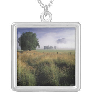 USA, Tennessee, Great Smokey Mountains Silver Plated Necklace