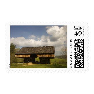 USA, Tennessee, Great Smoky Mountain NP. Postage Stamp