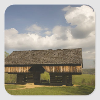 USA, Tennessee, Great Smoky Mountain NP. Square Sticker