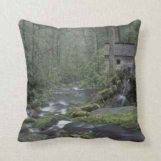 USA Tennessee Great Smoky Mountains National 3 Throw Pillows