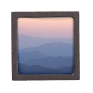 USA, Tennessee, Great Smoky Mountains National Premium Jewelry Boxes