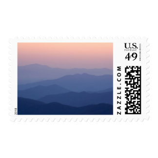 USA, Tennessee, Great Smoky Mountains National Stamp