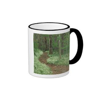USA, Tennessee, Great Smoky Mountains NP, 3 Ringer Coffee Mug