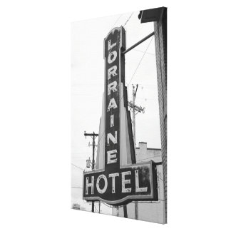 USA, Tennessee, Memphis: National Civil Rights Canvas Print