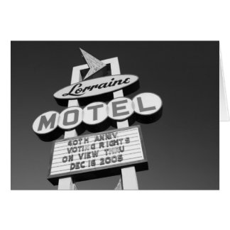 USA, Tennessee, Memphis,National Civil Rights Greeting Card