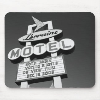 USA, Tennessee, Memphis,National Civil Rights Mouse Pad