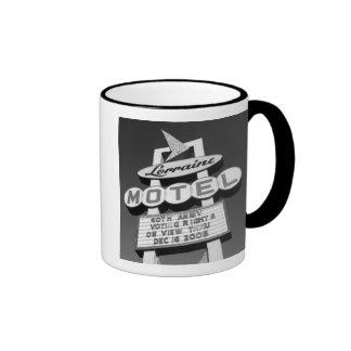 USA, Tennessee, Memphis,National Civil Rights Ringer Coffee Mug