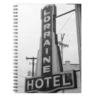 USA, Tennessee, Memphis: National Civil Rights Notebook