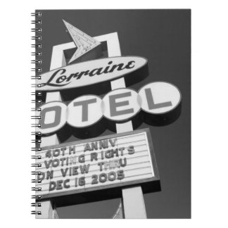 USA, Tennessee, Memphis,National Civil Rights Note Books