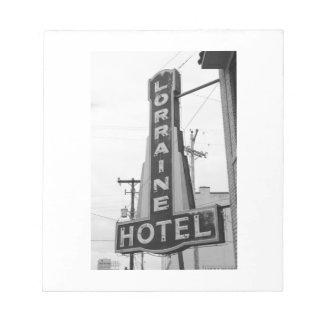 USA, Tennessee, Memphis: National Civil Rights Note Pad