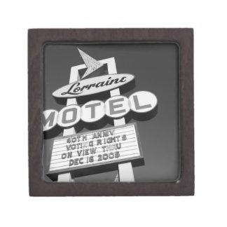 USA, Tennessee, Memphis,National Civil Rights Premium Jewelry Box