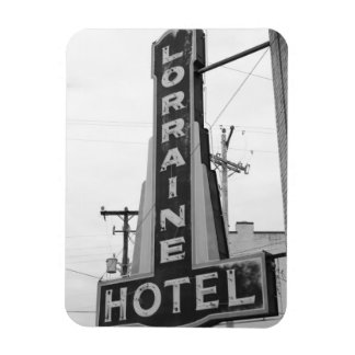 USA, Tennessee, Memphis: National Civil Rights Rectangular Photo Magnet