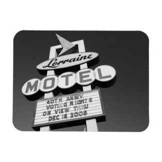 USA, Tennessee, Memphis,National Civil Rights Rectangular Photo Magnet